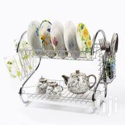 New and Stronger Dish Drainer Drying Rack 2 Layer - Silver   Kitchen & Dining for sale in Dar es Salaam, Ilala