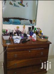 Mninga Wood Dressing Table With Free Mirror | Furniture for sale in Dar es Salaam, Ilala