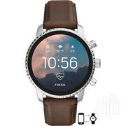 Fossil Smart Watch Q Explorist HR - 4th Generation | Smart Watches & Trackers for sale in Dar es Salaam, Ilala