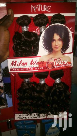 100% Human Hair(Noble Products)