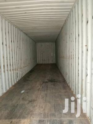 Empty Shipping Containers